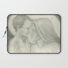 Child Jesus and Mary Laptop Sleeve