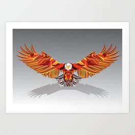 Mighty Eagle Art Print