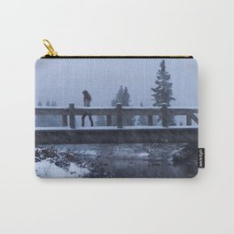 Bridge to Snow-where Carry-All Pouch