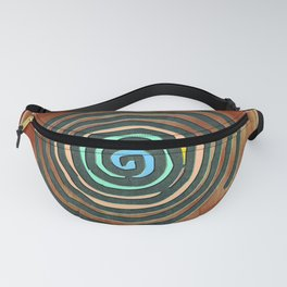 Tribal Maps - Magical Mazes #02 Fanny Pack