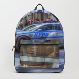 New York police Department Cars Backpack