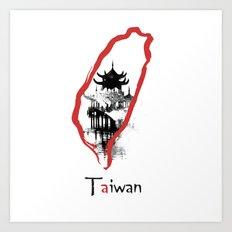 Taiwan, Taipei Art Print