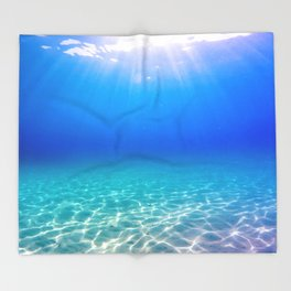 One Deep Breath Throw Blanket