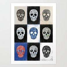 Memento Mori - BMD Design Art Print