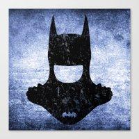 deathstroke Canvas Prints featuring El murciélago | The Bat Man by Freak Shop | Freak Products