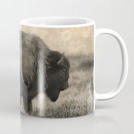 Plains Bison   -  American Buffalo Coffee Mug