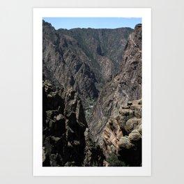 Black Canyon of the Gunnison National Park Art Print