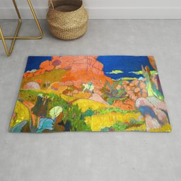 Maurice Denis Saint Georges with Red Rocks Rug