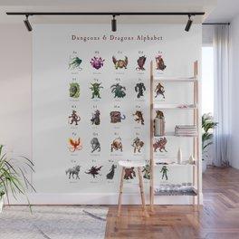 Monster Alphabet Wall Mural