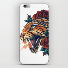 Ornate Leopard (Color Version) iPhone & iPod Skin