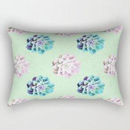 Succulent - Watercolour Pattern Rectangular Pillow