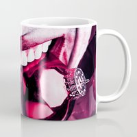 gift card Mugs featuring Gift by Imustbedead