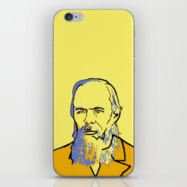 Fyodor Dostoyevsky iPhone Skin