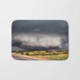Tornado Day - Storm Touches Down in Northwest Oklahoma Bath Mat