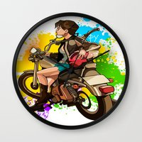 silent Wall Clocks featuring Silent by Don Kuing