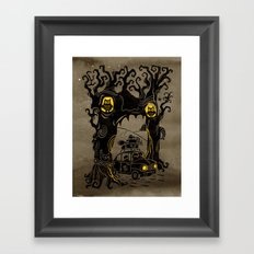 Trip to Enchanted Forest Framed Art Print