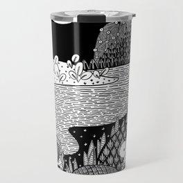 Botanical Doodle 3/3 Travel Mug