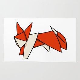 Origami Fox Rug