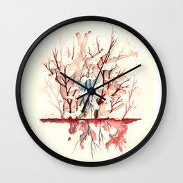 Expand! No limites entre Infrarrojo y Ultravioleta Wall Clock