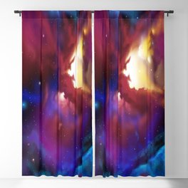 Bat Nebula  Blackout Curtain