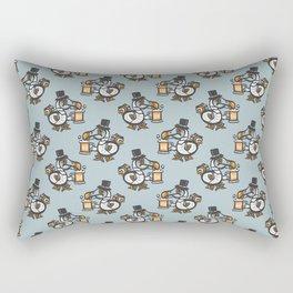 Dodo with beer Rectangular Pillow
