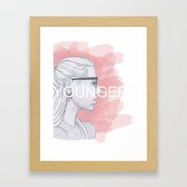 Younger #1 Framed Art Print