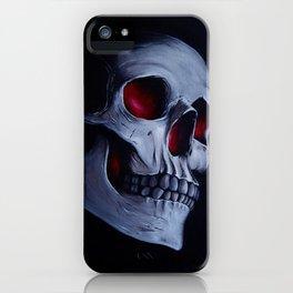Acrylic Skull iPhone Case