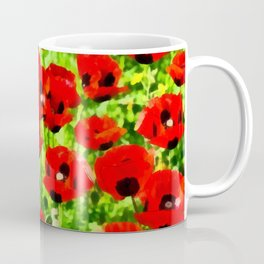 Poppies 4 Coffee Mug