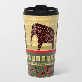 African motifs. Travel Mug