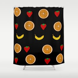 Fruit salad Shower Curtain