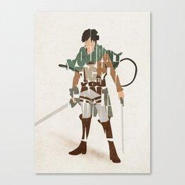The Suicidal Blockhead Canvas Print