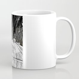 Black and White Ninja Turtle Leonardo Coffee Mug