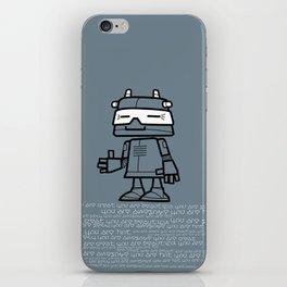 Ze Robot, Cool :) iPhone Skin
