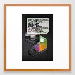 Bönng I Framed Art Print