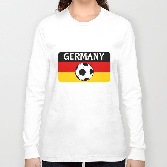 German Flag Football Long Sleeve T-shirt