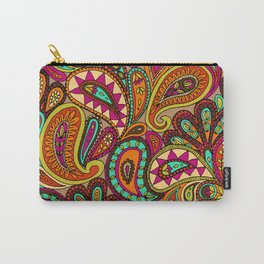 Basic Paisley  Carry-All Pouch