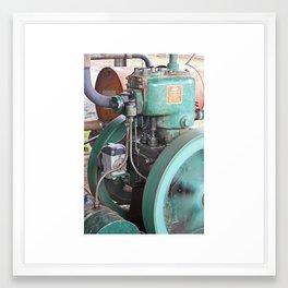 Lister Steam Engine. R A Lister Australia Pty Ltd. Salisbury Qld. Framed Art Print