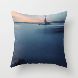 Maiden's Tower Throw Pillow