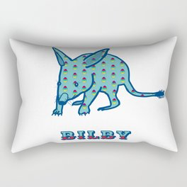 Greater Bilby Macrotis lagotis by Chrissy Wild Rectangular Pillow