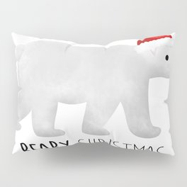 Beary Christmas | Polar Bear Pillow Sham