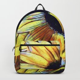 Sunflower After The Storm Backpack