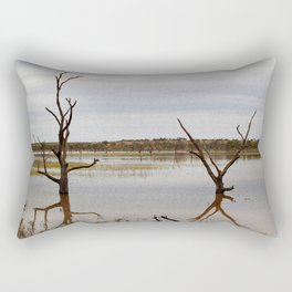 Dead Trees in the River Rectangular Pillow