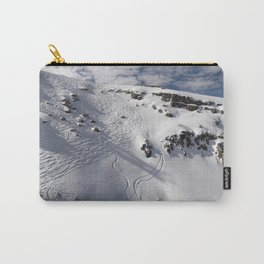 Ski Slopes Carry-All Pouch
