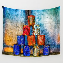 Soup Cans - Square Meal Wall Tapestry
