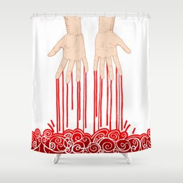 Guilty Shower Curtain