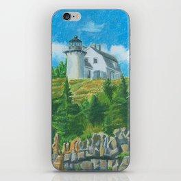 Bear Island Lighthouse iPhone Skin