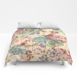 Flower Abstraction Comforters
