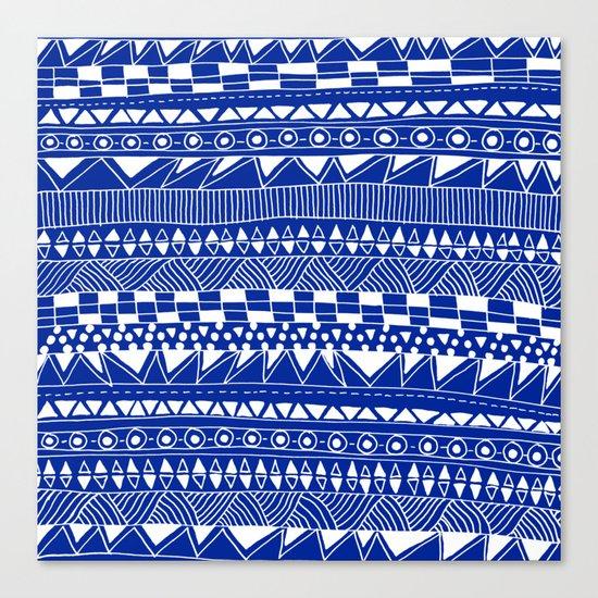 Fun - blueberry Canvas Print