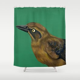 Female Grackle Shower Curtain