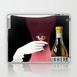 1950 Linherr Vermouth Bianco Aperitif Vintage Poster by arthur Ziegler Laptop & iPad Skin